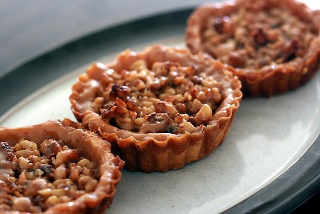 Walnut Tartlets | Thanksgiving | Pinterest