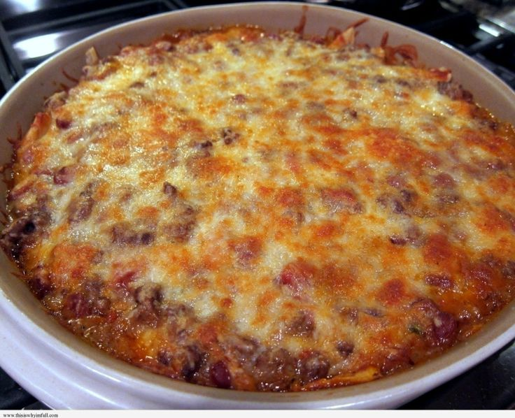 Easy Mexican Casserole http://www.thisiswhyimfull.com/dinner/mexican ...