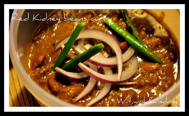 Red Kidney Beans Curry | Main Dish Recipes | Pinterest