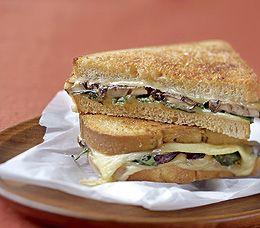 MyPanera Recipe: A Mushroom, Spinach, and Smoked Gouda Sandwiches