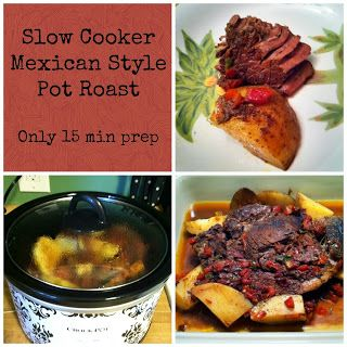 Slow Cooker Mexican Style Pot Roast | Slow Cooker Recipes | Pinterest