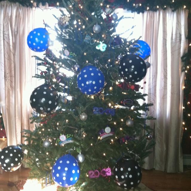 New Years Eve Tree