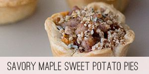 Savory Maple Sweet Potato Pie, A Vintage Recipe Remake — The Tomato ...