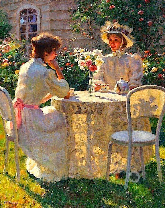 Gregory Frank Harris - tea time