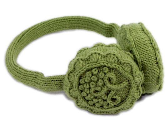 Free Crochet Earmuff Pattern : earmuffs Crochet Earmuffs Pinterest