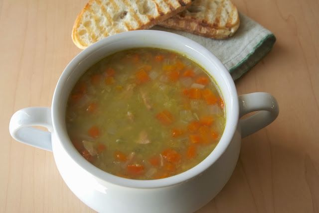 Culinary Ginger : Ham and split pea soup