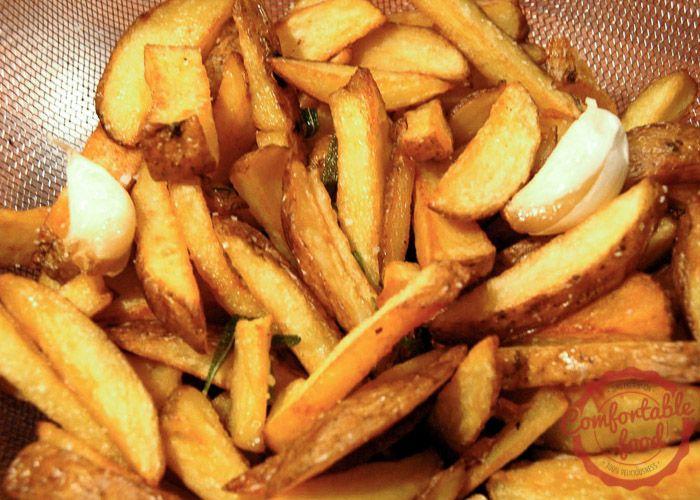 Italian fries with rosemary and garlic