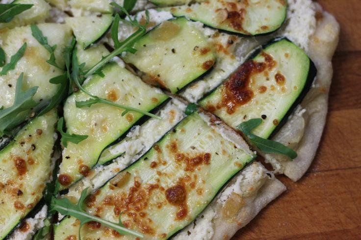 Ricotta & Zucchini Pizza with lemon | (Paleo) Wishful Thinking | Pint ...