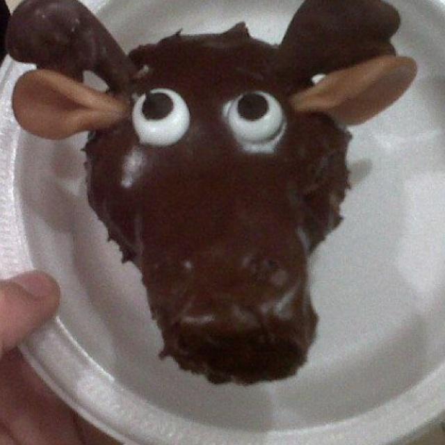 Moose+Cupcakes Moose cupcake | Cupcakes | Pinterest