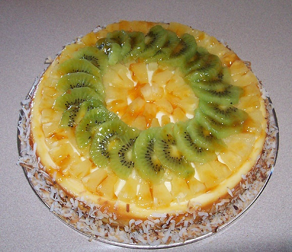 Tropical cheesecake | My creations | Pinterest