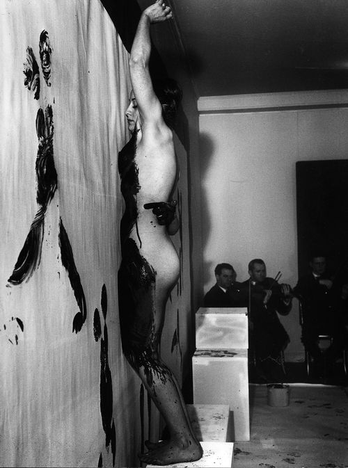 Yves Klein, Anthropometries of the Blue Epoch, Paris, 1960