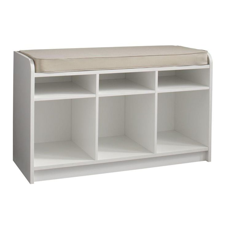 Martha Stewart Living 35 In X 21 In White Storage Bench With Seat 4