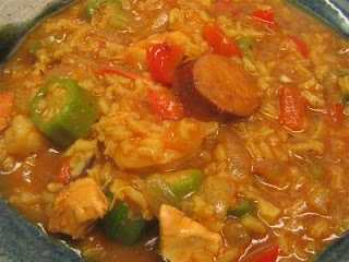 Shrimp, Chicken, and Andouille Gumbo | nom nom nom | Pinterest