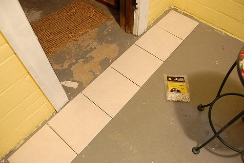 How To Lay Floor Tile How To 39 S Pinterest