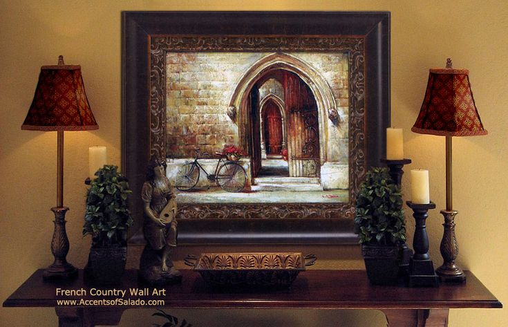 Country Living Room Design French Country Decor French Country Wall