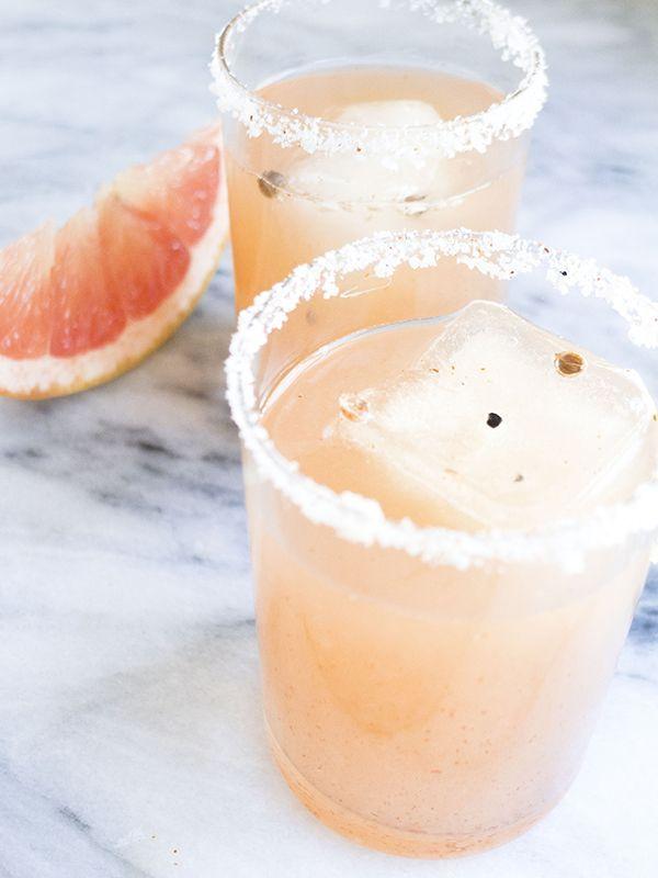 smoky, spicy grapefruit margarita | bar cart. | Pinterest