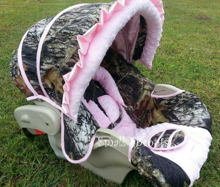 Pink Camo Baby Car Seat How Cute Baby Girl Pinterest