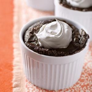 Mocha Brownie Pudding Cake   Chocolate as Cake   Pinterest