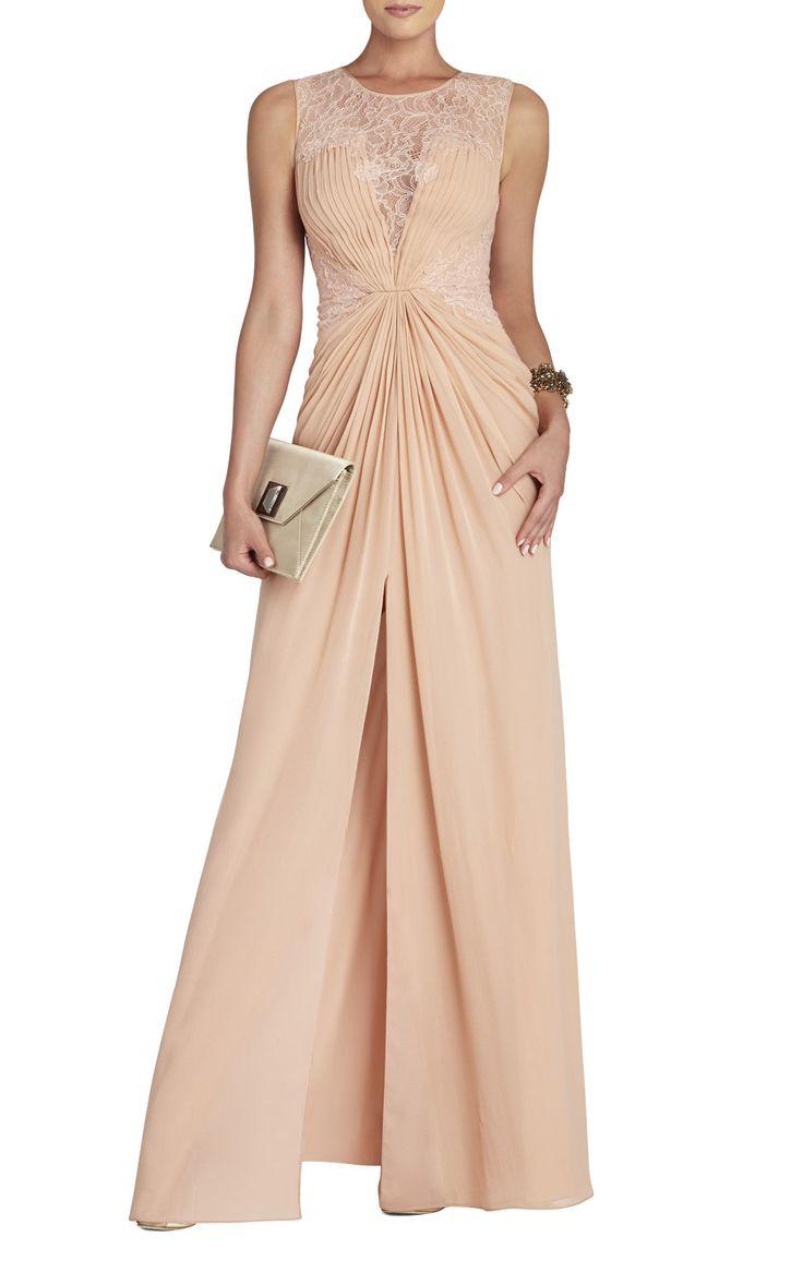Tamara Lace-Yoke Gown | BCBG | Dress Patterns | Pinterest