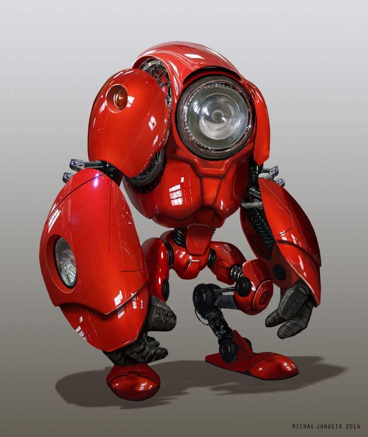 Ред робот дизайн