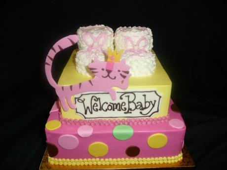 Welcome Baby Celebritycakestudio.com Tacoma WA