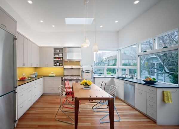 Decorating Yellow & Grey Kitchens Ideas & Inspiration