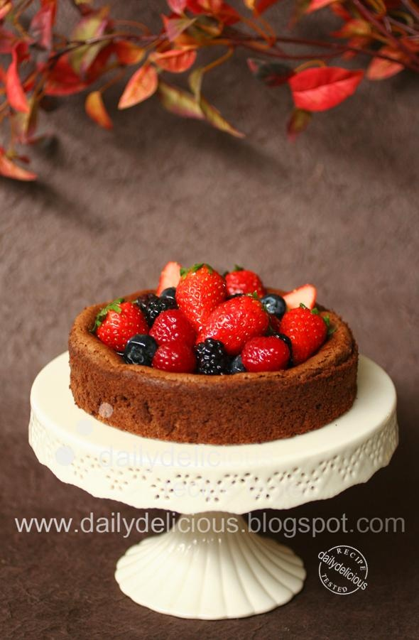 fallen chocolate cake | Food ♥ Sweetie | Pinterest