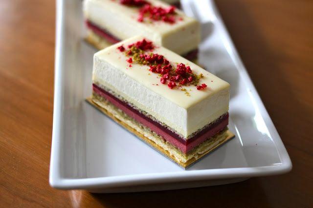 ... Kitchen: The Astrid (pistachio, white chocolate and raspberry