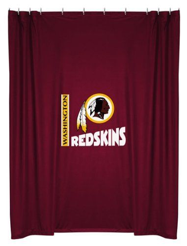 NFL Washington Redskins Shower Curtain for that Redskins fan in your ...