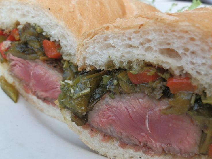 Chimichurri steak sandwich | IL - Delicious Dishes from Local IL Rest ...