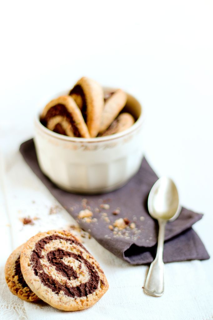 Chocolate & hazelnut cookies | Sweet recipes | Pinterest