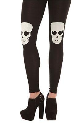 total skull clothing line | Skull Leggings - 724840