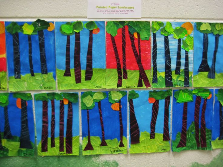 Line Art Grade 1 : St grade horizon line year art pinterest