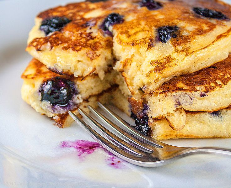 Protein Packed Blueberry Pancakes, Gluten-Free and delicious! These ...