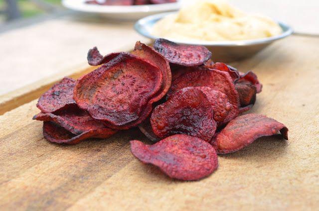 Baked Beet Chips | Preparing for Harvest | Pinterest