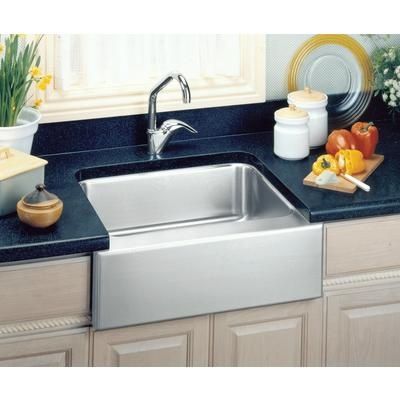 kitchen sink. $812. Elkay - Single Bowl Apron Front Undermount Sink ...