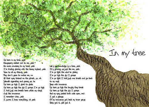 in my tree pearl jam: