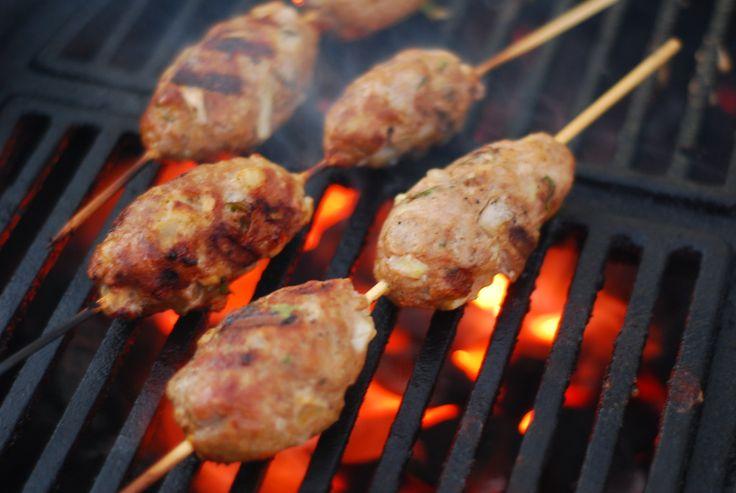 lamb kofta kebabs grill grrrl blog grill girl big green egg recipes ...