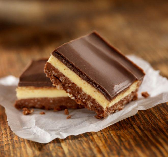 Nanaimo čokoladne rezine