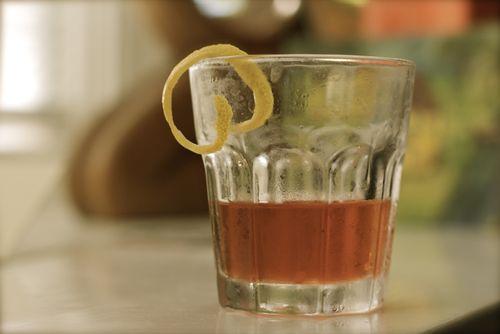 Sazerac #rye #whiskey #absinthe | The Art of Manliness | Pinterest