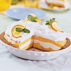 Creamsicle Ice Cream Pie at WomansDay.com- Dessert Recipes - Woman's ...