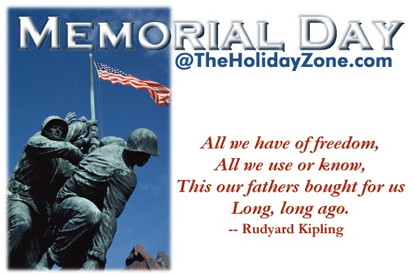 memorial day thoughts sayings