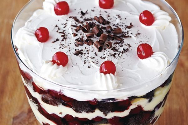 Black Forest Trifle | Favorite Recipes | Pinterest