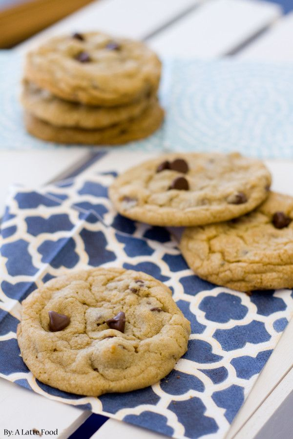 Bakery Style Chocolate Chip Cookies | Recipe
