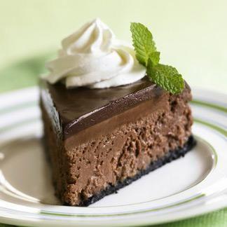 Dark Chocolate Cheesecake | Cheesecake | Pinterest