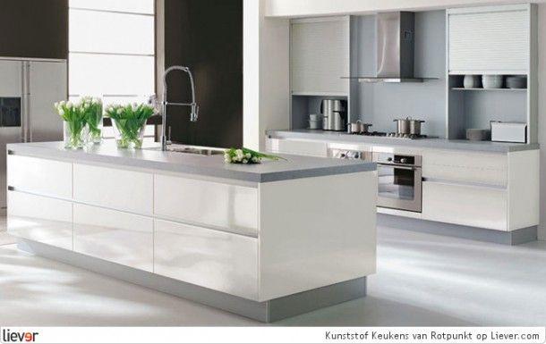 Witte Keuken Met Grijs Werkblad : Wit met grijswerkblad Home sweet home Pinterest