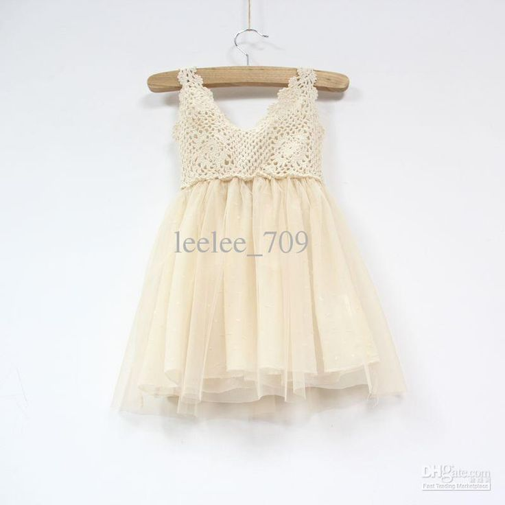 Crochet & tulle dress Sew Easy Pinterest