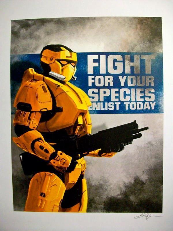 Halo Propaganda | Scifi Inspiration | Pinterest Unsc Propaganda