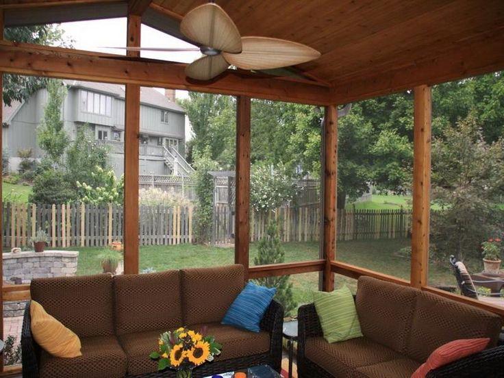 Leawood Covered Porch Design Back Porch Ideas Pinterest