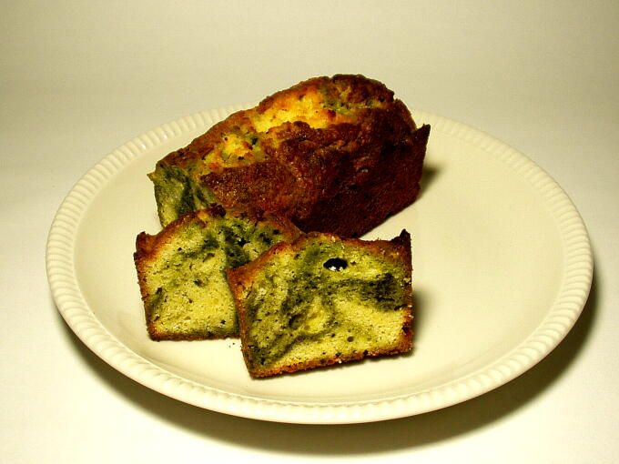 Matcha Marble Pound Cake ---This recipe is from Hibiki-An( where i ...